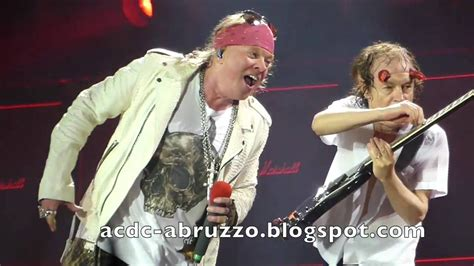 axl rose und ac dc ac dc and axl rose highway to hell d 252 sseldorf 15 june