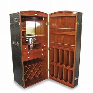 Steamer Trunk Liquor Cabinet – Cabinets Matttroy
