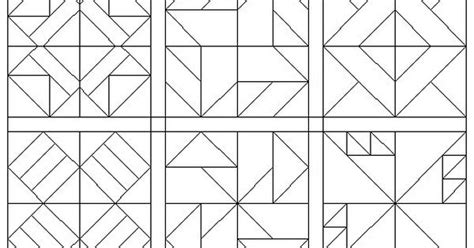 coloring pages quilt blocks  pinteres
