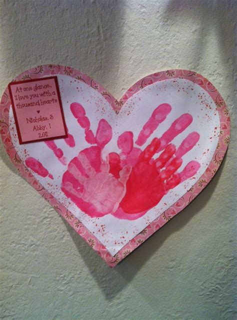 valentines day handprint crafts home design garden