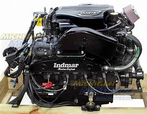 8 1l Indmar Complete Engine Package 450 Hp-inboard