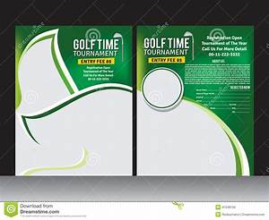 golf for flyer clipart With golf tournament program template