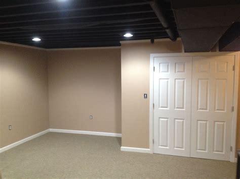 basement  pinterest industrial basement unfinished basement ceil