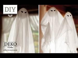 Gruselige Halloween Deko Selber Machen : diy schwebende halloween gespenster in nur 5 min basteln deko kitchen youtube ~ Yasmunasinghe.com Haus und Dekorationen