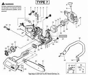 Poulan 2175 Gas Saw Type 7  Wildthing 2175 Gas Saw Type 7