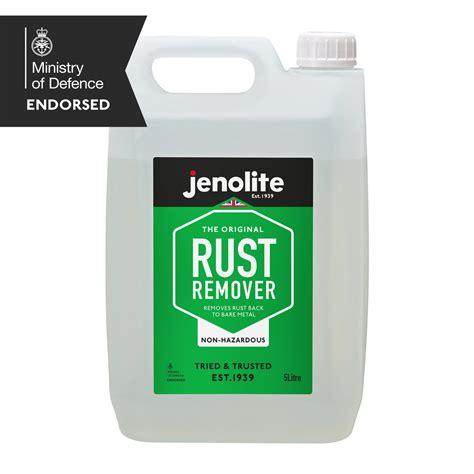 rust remover  hazardous  litre jenolite