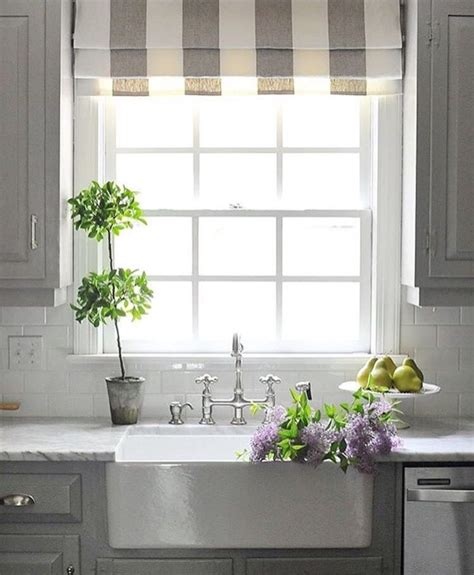 Kitchen Blinds And Shades by A Shade A Kitchen Sink Window Offers A Great