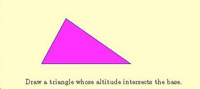 Triangle Base Area Height Formula