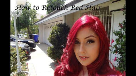Bright Red Hair Makeup Tips Mugeek Vidalondon
