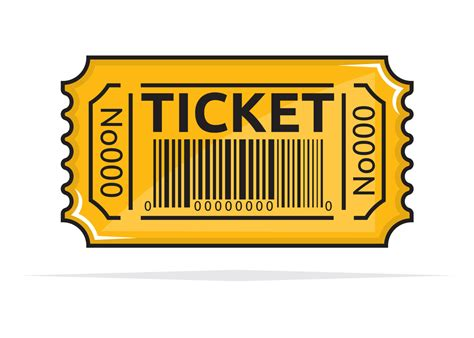 Ticket Clip Ticket Template Cliparts Co