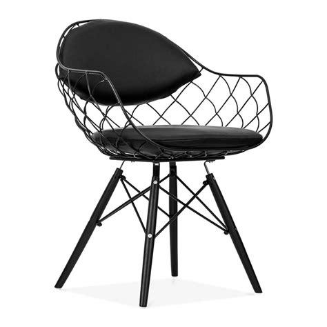 ustensiles de cuisine professionnels pas cher chaise fils de fer avec pieds en bois de style dsw
