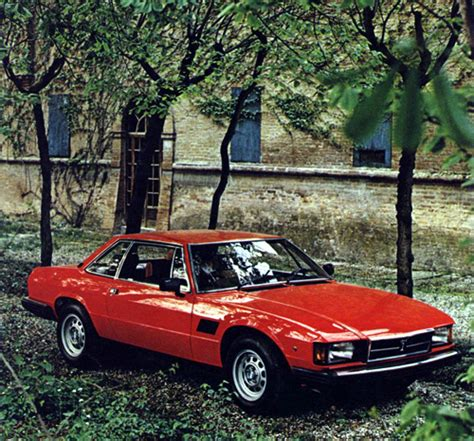 DE-TOMASO LONGCHAMP L/GTS (1972-1989) - RETRO