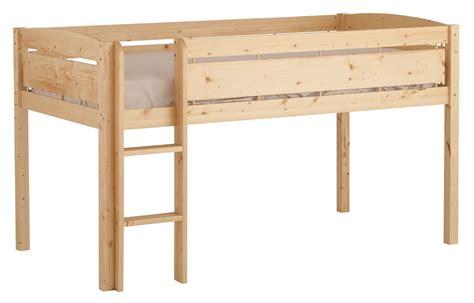 loft bed dorel home furnishings loft bed w blue slide