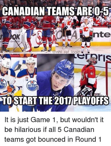Canada Hockey Meme - funny teams memes of 2017 on sizzle snapchat notifications