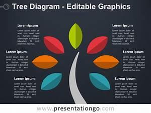 Simple Tree Powerpoint Diagram