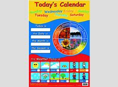 Educational posters Early learning posters Friezes from