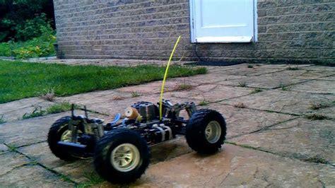 ssk thunder tiger monster truck nitro car cold start rc