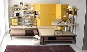 Ikea Bureau Enfant : ikea bureau chambre frais perfect bureau de chambre ado lit enfant mezzanine avec ~ Teatrodelosmanantiales.com Idées de Décoration