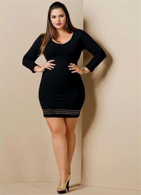 Attractive plus size club dresses