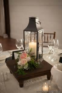 Wedding Reception Centerpieces with Lanterns