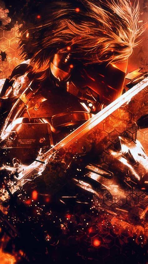 flames raiden metal gear rising revengeance mgr wallpaper