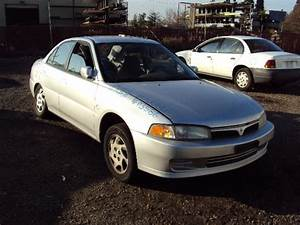 1999 MITSUBISHI MIRAGE LS MODEL 4 DOOR SEDAN 1 8L AT FWD