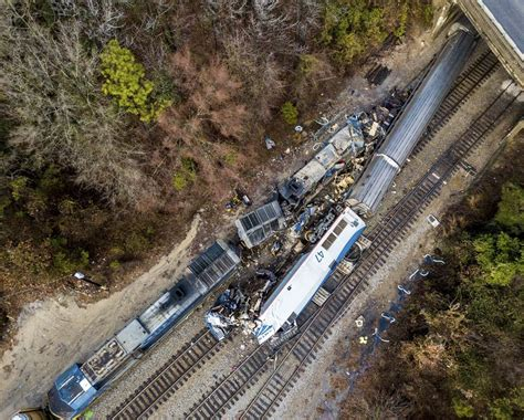 Amtrak Collides With Freight Train In South Carolina