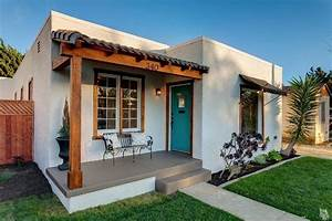 Before and After: A Sweet Spanish Bungalow by the Beach