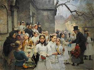 File:After first Communion (Carl Frithjof Smith, 1892).jpg ...