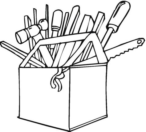 tools coloring pages coping skills pediatric physical therapy counseling lessons