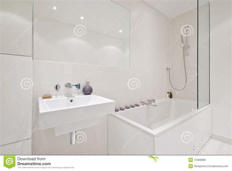 Brand New Modern Bathroom Stock Photo Image Of Modern