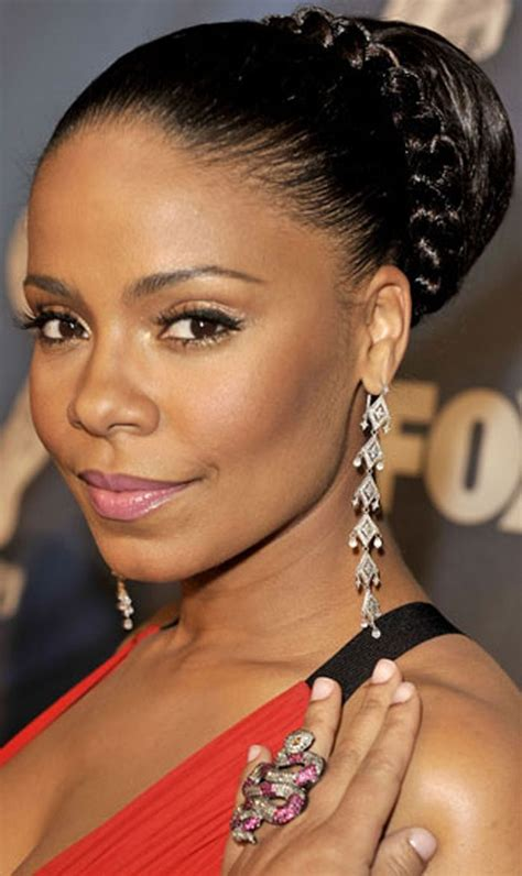 1000 images about black updo hairstyles on pinterest