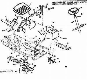 Craftsman Craftsman 26 Inch Rear Engine Riding Lawn Mower