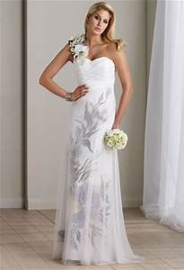 hand painted informal wedding dress destinations by mon With painted wedding dress