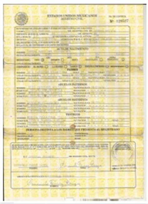 certified spanish birth certificate translation services