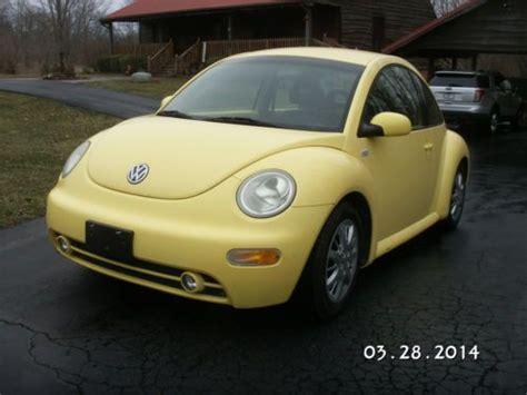 diesel volkswagen beetle purchase used 2001 vw new beetle diesel 5 speed in