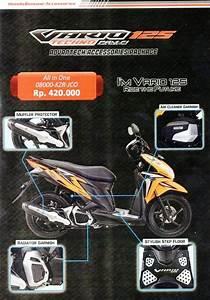 Jual Paket Aksesoris Variasi Honda Vario 125 Esp Lama