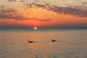 Beautiful Lake Erie Sunset