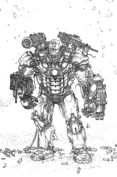 war machine coloring pages   print