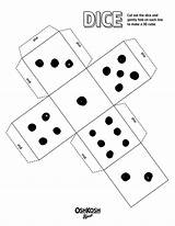 Dice Printable Roll Game Coloring Books sketch template