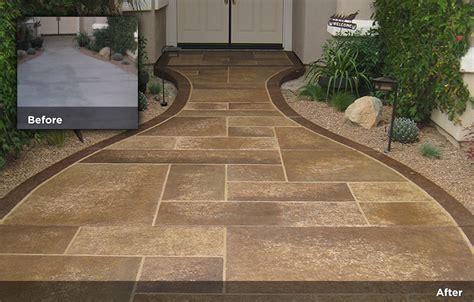 flagstone design tile design patios pool decks 23