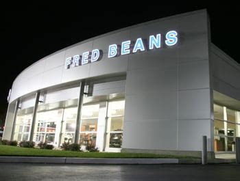 letter  fred beans fred beans ford doylestown pa