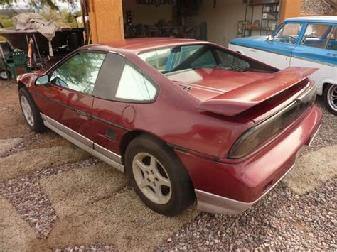 Buy Used 1988 Gt Pontiac Fiero Small Project In Mesa