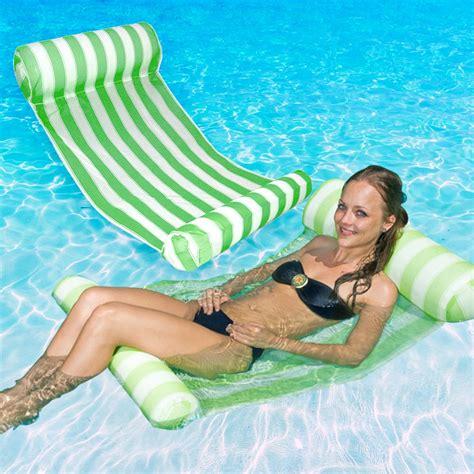 "Poolmaster 52""l X 26""w Swimming Pool & Lake Hammock Water"