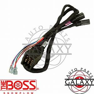 Boss Msc03741 Snow Plow Wiring Harness