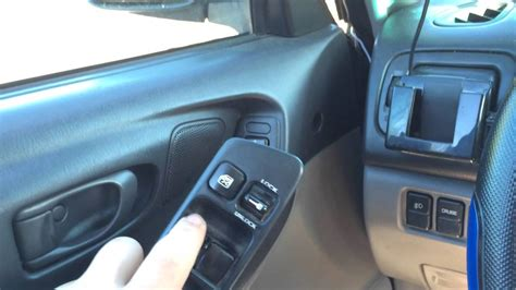 2001 Subaru Forester Power Window Switch Youtube