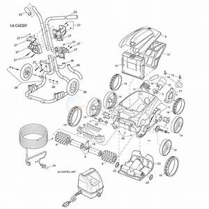 Polaris 9400 Sport Robotic Cleaner Parts
