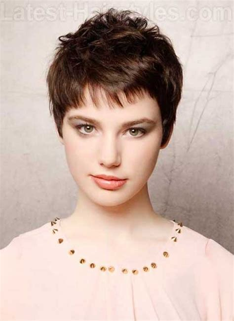 Hairstyles For A Pixie Cut by Pixie Cut For Thin Hair Hairstylo