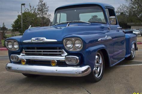 1958 Chevrolet Apache Custom Stepside Pickup 96699