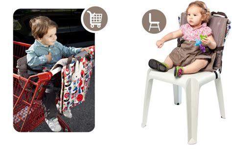 siège bébé caddie voyage avec bébé accessoires nomades multifonctions